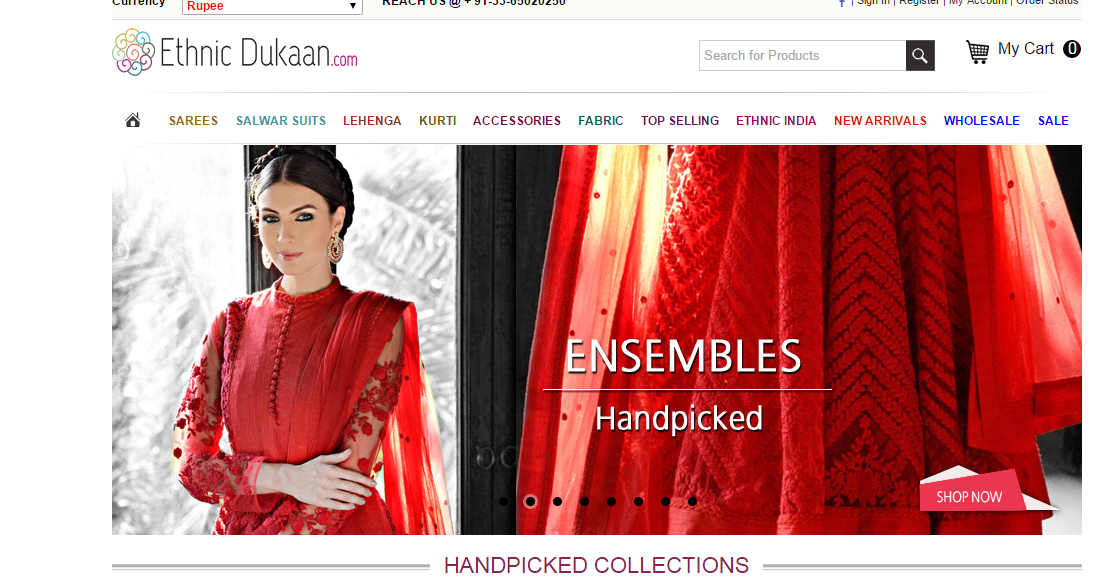 a7896e5262 They offer an exclusive range that includes Sarees, Salwar Suits, Kurtis,  Bridal Lehengas & accessories but what sets them apart from other  E-commerce ...