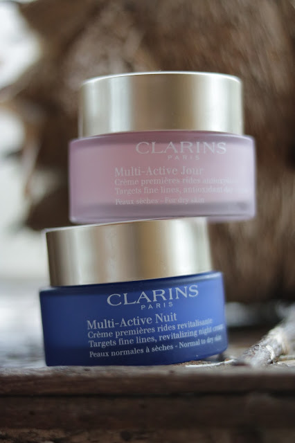 clarins multi active day and night cream