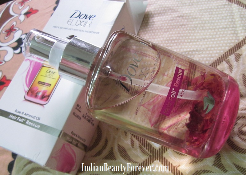 Dove Elixer Rose and Almond oil