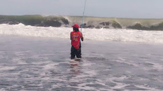 Teknik Mancing pasiran dengan cara ngoyor