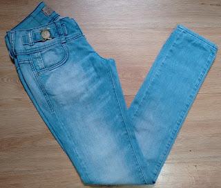 calça jeans DLZ tam 34