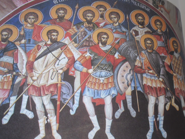 Άγιοι Δώδεκα Μάρτυρες στρατιώτες εκ της Κρήτης 12 Αυγούστου