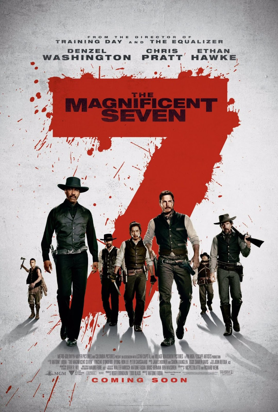 فيلم The Magnificent Seven 2016 مترجم 3
