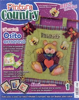 Pintura Country Nro. 1 – El Osito Amoroso