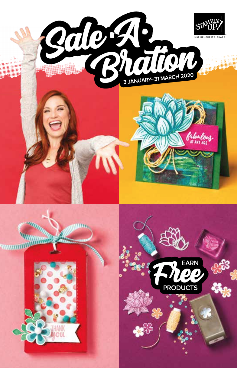 STAMPIN' UP!® SALE-A-BRATION BROCHURE