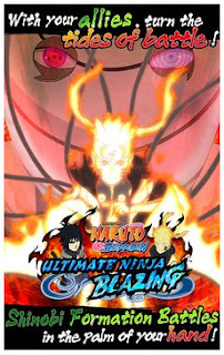 ada versi gres dari game naruto Ultimate Ninja Blazing BBM MOD APK Ultimate Ninja Blazing Apk v2.4.0 Mod High Attack