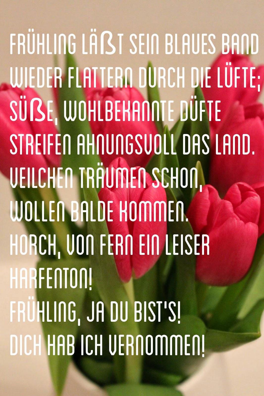 Der Frühling Erweckt Die Schulpoesie Floral Heart