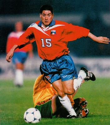 Chile y Lituania en partido amistoso, 29 de abril de 1998