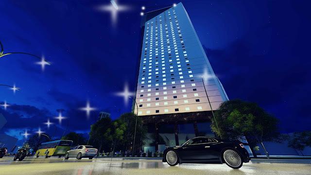 Phối cảnh dự án tháp doanh nhân Hà Đông