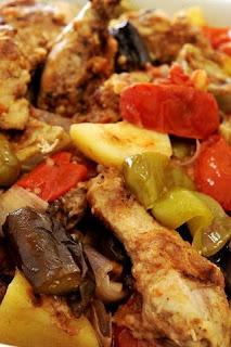 طاجن دجاج مع الخضار على الطريقة التركية للشيف أسامة السيد