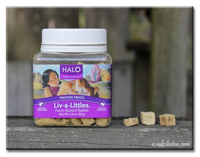 Halo Liv-a-Littles Farm Raised Rabbit Protein Treats