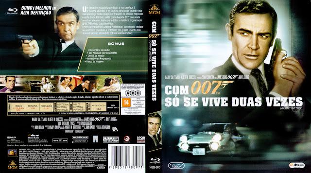 Capa Blu-ray Com 007 Só Se Vive Duas Vezes