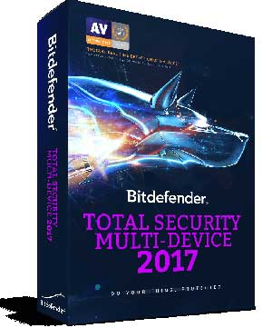 Bitdefender Total Security 2017 Key Plus Activation Code Here!