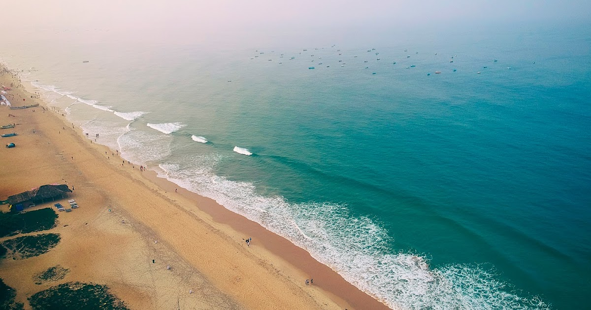 Пляж калангут гоа индия фото