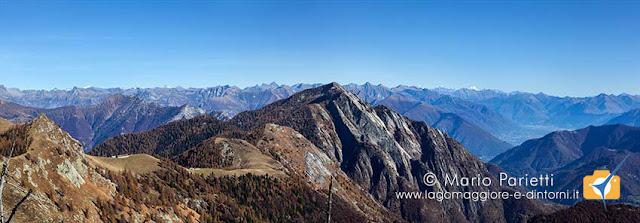 Panorama sotto il monte Ziccher