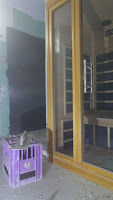 Die eigene Sauna im Appartement