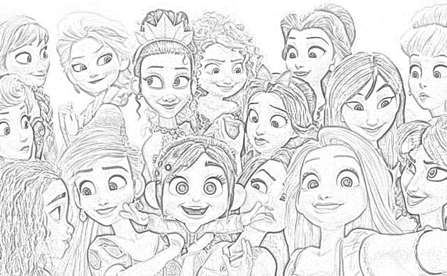 Disney Movie Princesses