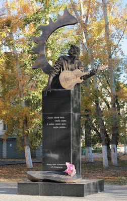 Памятник Цою в Барнауле