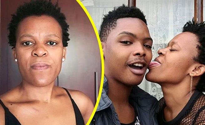 Desperate Zodwa Wabantu buys ring worth R61,000, proposes to her ben 10 Ntobeko Linda (Watch video)