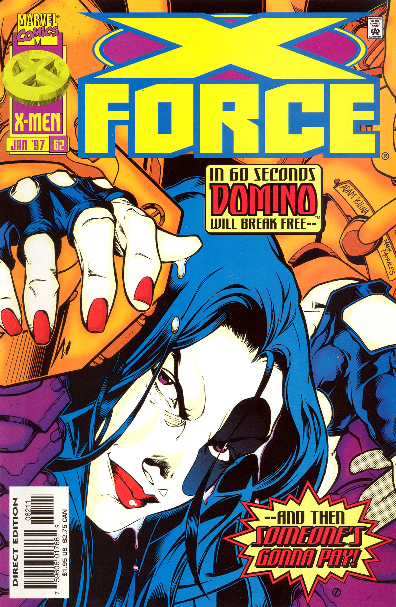 X-Force (1991) 62 Page 1