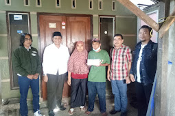 Selain Sumbang Pemikiran  Untuk Daerah, MCNB Buka Dompet Kemanusiaan