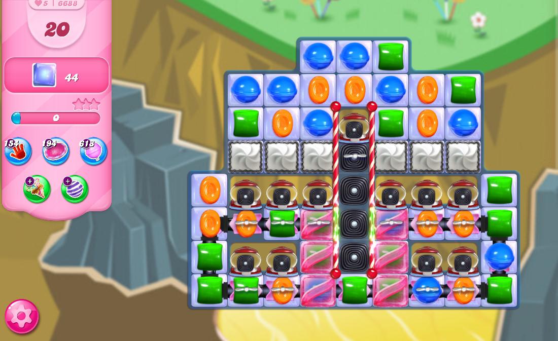 Candy Crush Saga level 6688