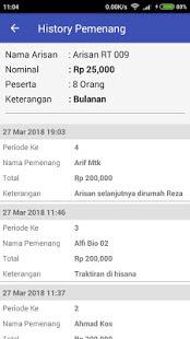 Aplikasi Android Kocok Arisan