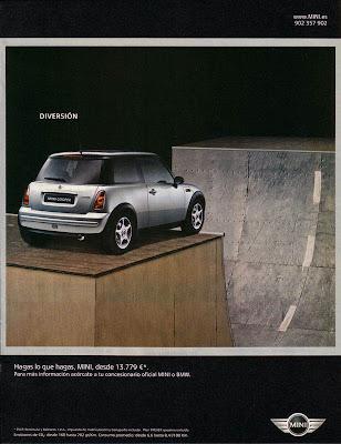 diseño de anuncio de Revista creativo