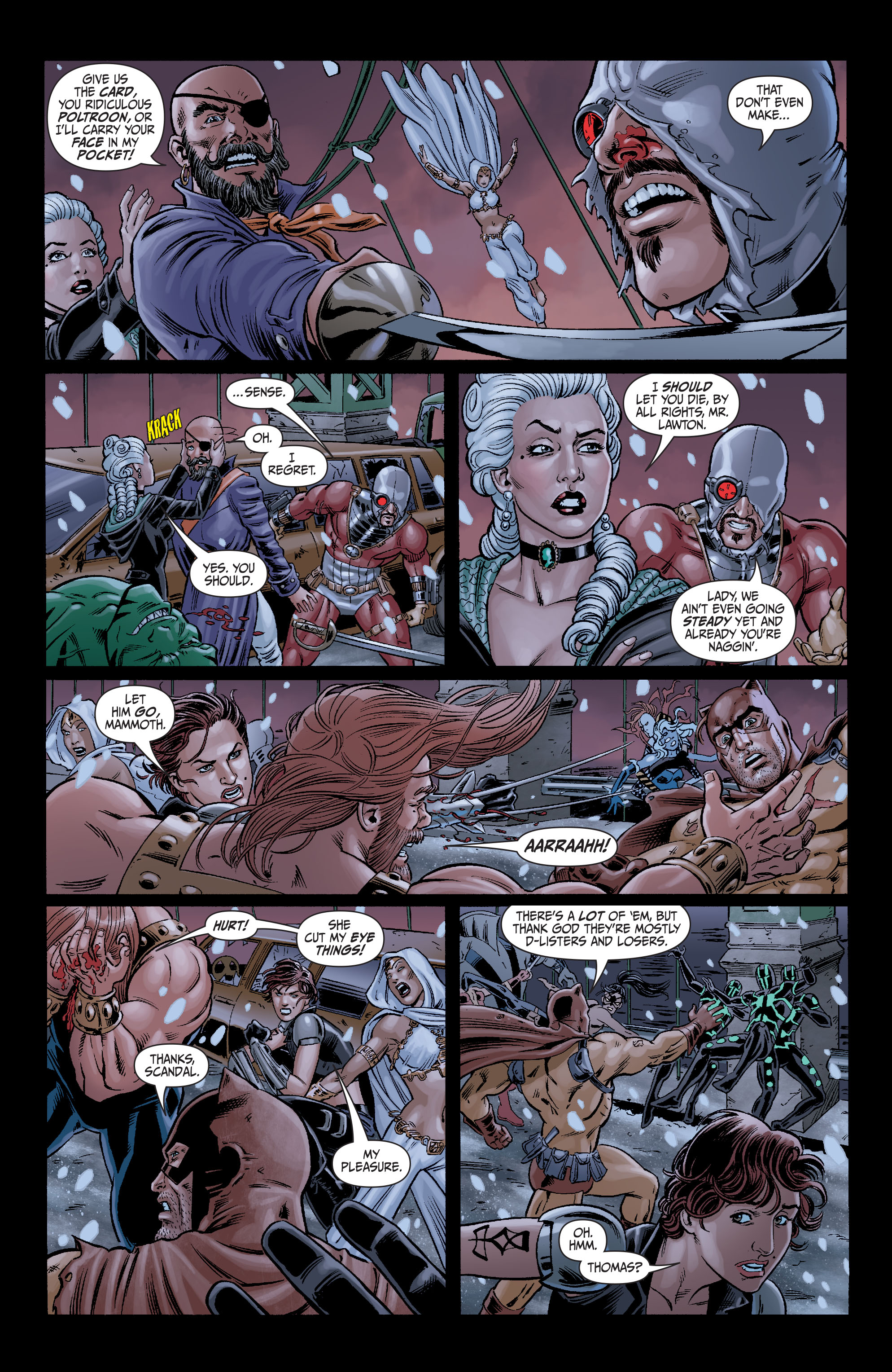 Read online Secret Six (2008) comic -  Issue #7 - 11