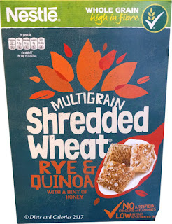 Shredded wheat multigrain rye and quinoa