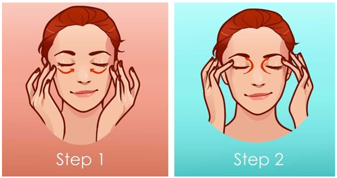 Image result for eye massage