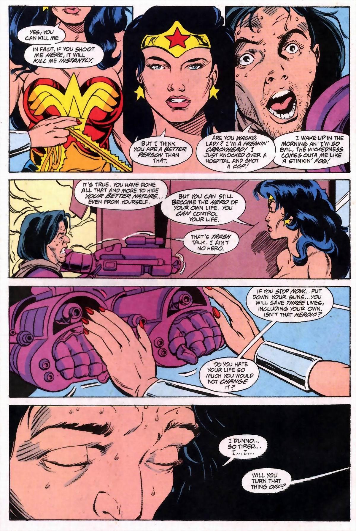 Read online Wonder Woman (1987) comic -  Issue #74 - 5