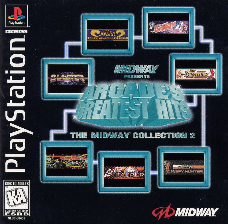 Arcades Greatest Hits Midway 2 - PS1 - ISOs Download