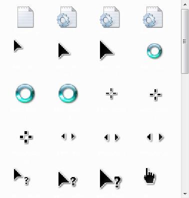 【下載】48套精美漂亮有型的滑鼠鼠標!