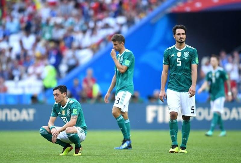 Tangisan Kecewa Pasukan Jerman Kalah