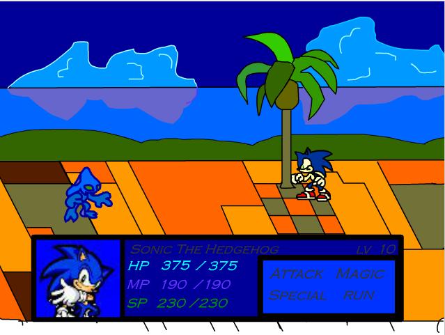 Sonic Chiến Đấu 1