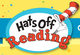 Hats Off to Reading Logo
