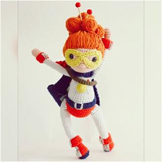 patron Amigurumi yarnwoman katia