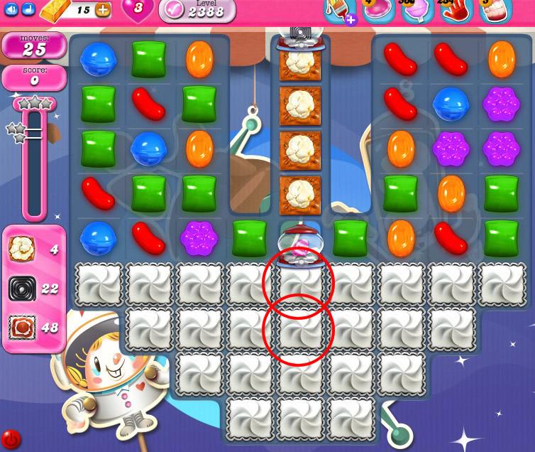 Candy Crush Saga level 2388