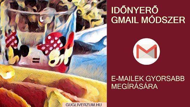 Előre megírt válaszok a Gmail-ben
