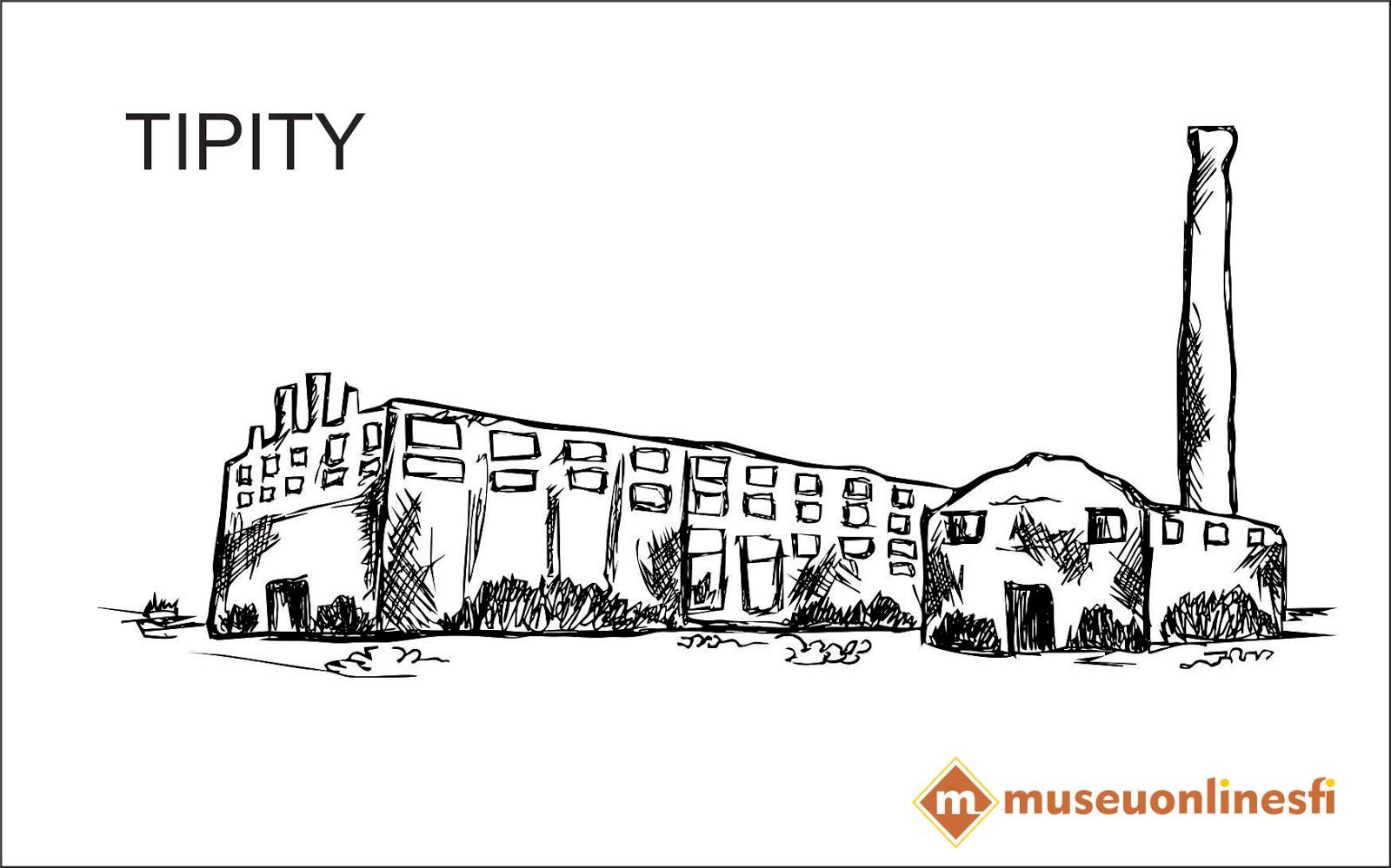 Loja Virtual Museuonlinesfi Para Colorir Desenho Da Fabrica Tipity