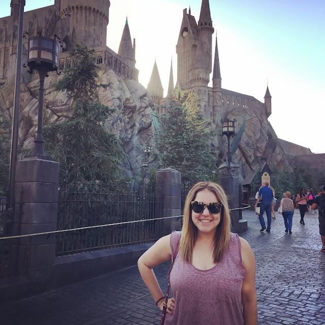 Harry Potter World, Universal Studios Hollywood, Los Angeles, Hogwarts, Jamie Allison Sanders