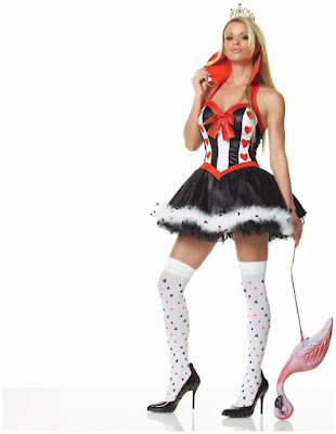 Enchanting Queen of Hearts Costume at SpicyLegs.com