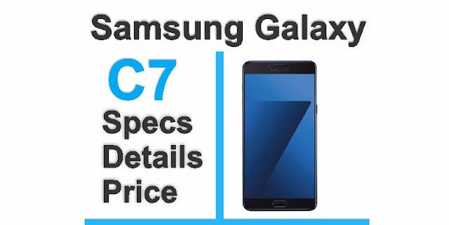 Galaxy C7 Samsung smartphone