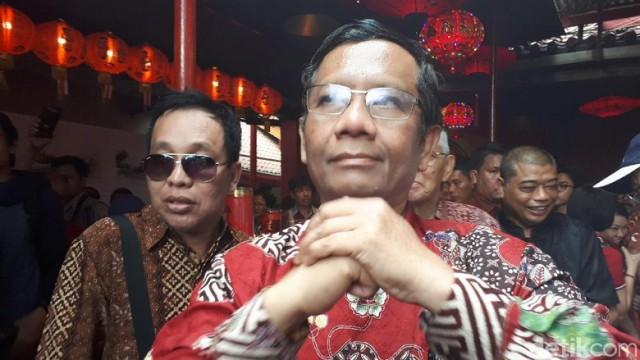 Mahfud MD akan Deklarasikan sebagai Cawapres Jokowi