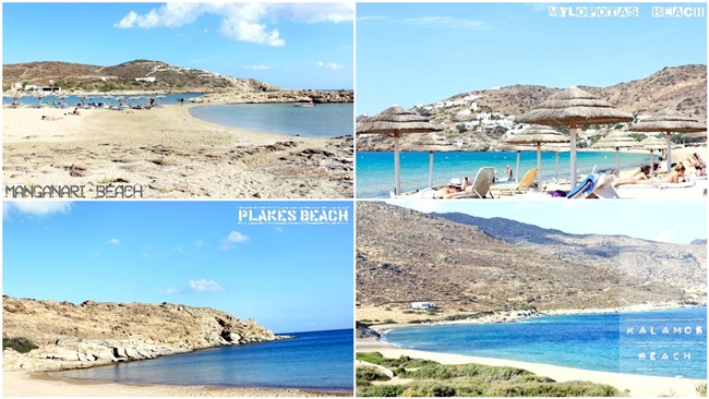 IOS island best beaches travel video: Mylopotas Manganari Plakes Kalamos