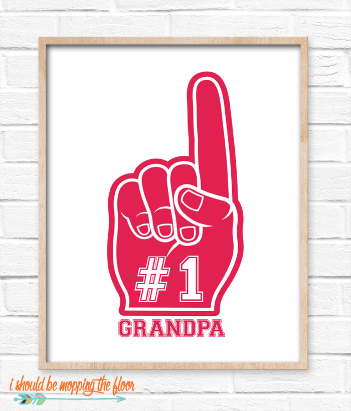Foam Finger Printable