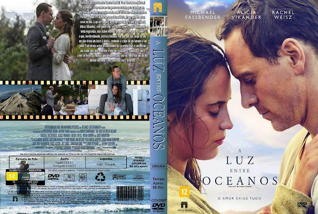 Capa DVD A Luz Entre Oceanos