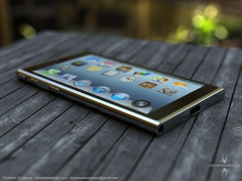 konsep desain iPhone 6