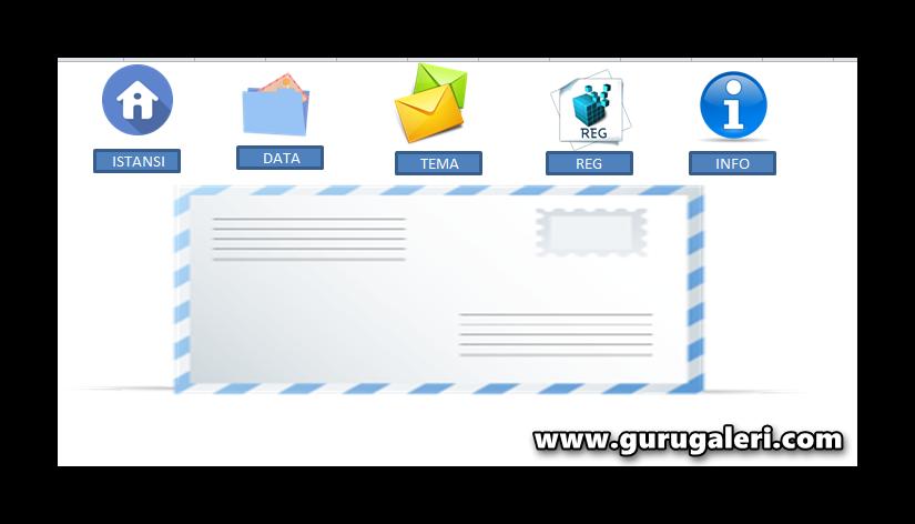 Aplikasi Cetak Amplop Surat Otomatis Dan Gratis Bahasan
